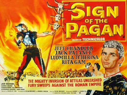Sign of the Pagan 1954 DVD - Jeff Chandler / Jack Palance
